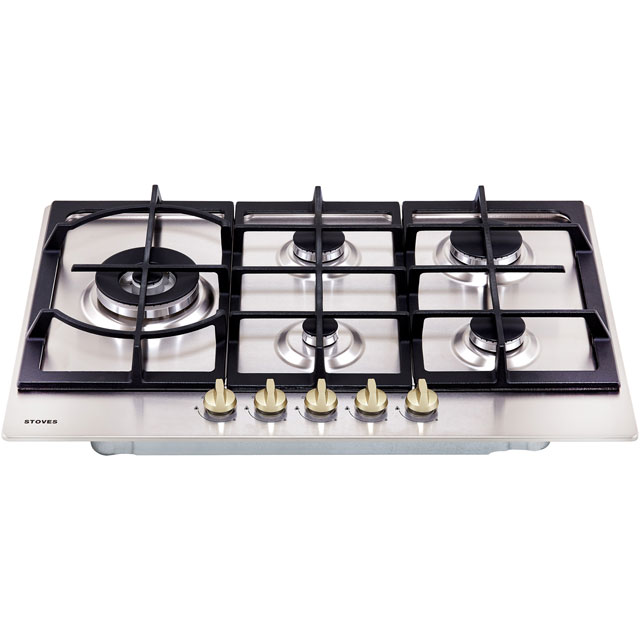 Stoves GHU75C Built In Gas Hob - Stainless Steel - GHU75C_SS - 4