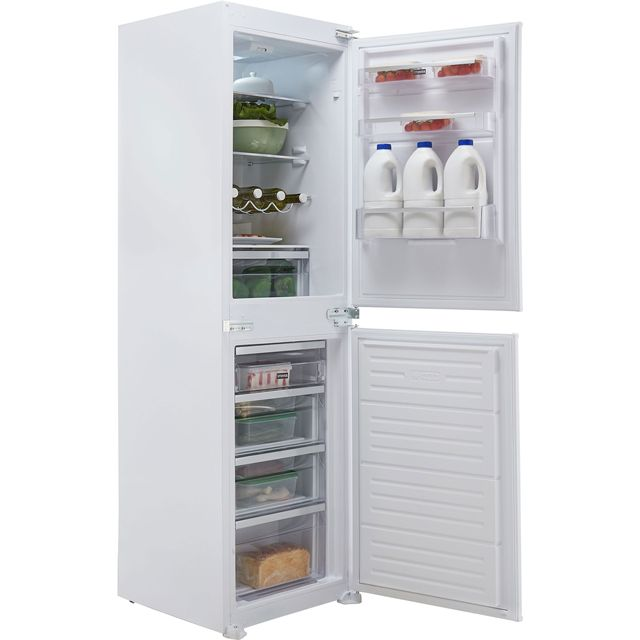 Stoves INT50FF Built In Fridge Freezer - White - INT50FF_WH - 1