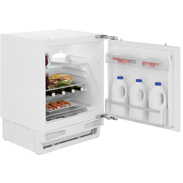 Stoves INTLAR Integrated Under Counter Fridge - Fixed Door Fixing Kit - White - F Rated