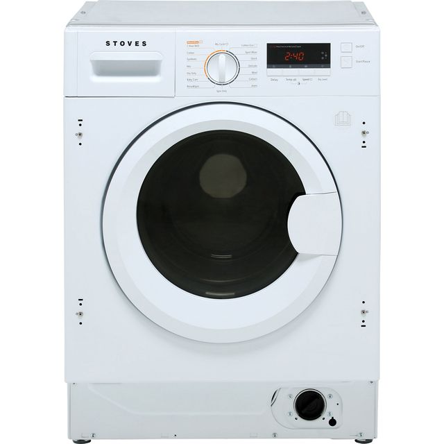 Stoves IWD8614 Integrated 8Kg / 6Kg Washer Dryer with 1400 rpm - A Rated - IWD8614_WH - 1