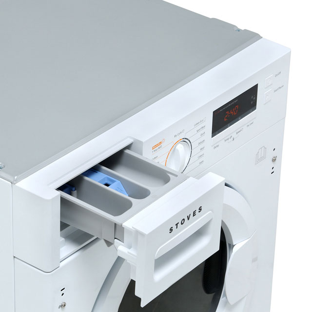 Stoves IWD8614 Built In 8Kg / 6Kg Washer Dryer - White - IWD8614_WH - 4