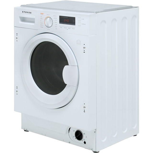 Stoves IWD8614 Built In 8Kg / 6Kg Washer Dryer - White - IWD8614_WH - 5