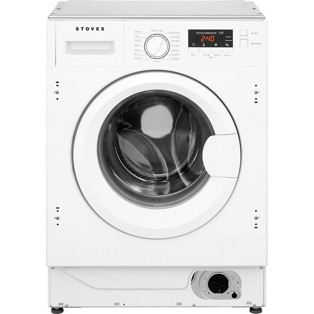 Stoves IWM8KG Integrated 8Kg Washing Machine with 1400 rpm - A+++ Rated