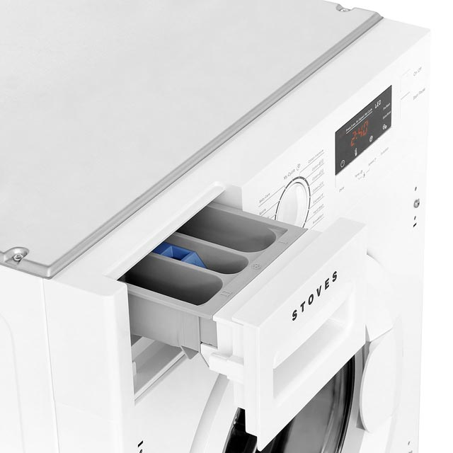 Stoves IWM8KG Integrated 8Kg Washing Machine with 1400 rpm - A+++ Rated - IWM8KG_WH - 5