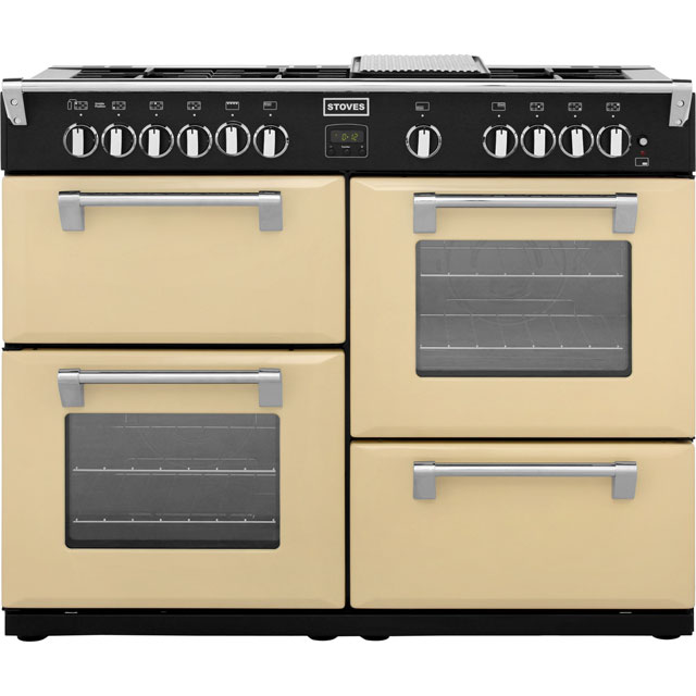 Stoves Richmond Richmond1100GT 110cm Gas Range Cooker - Champagne - B/B/A Rated - Richmond1100GT_CH - 1