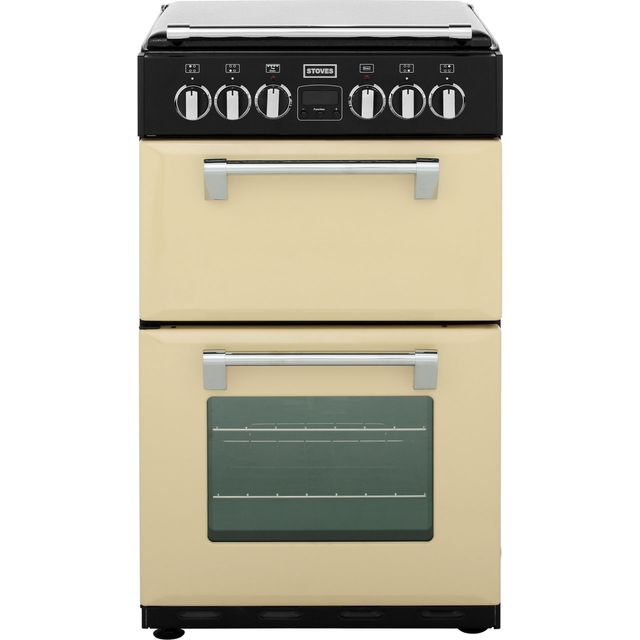 Stoves Mini Range RICHMOND550E 55cm Electric Cooker with Ceramic Hob - Champagne - A/A Rated - RICHMOND550E_CHA - 1