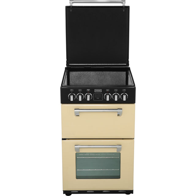 Stoves Mini Range Richmond550e 55cm Electric Cooker With Ceramic Hob Jalapeno A Rated