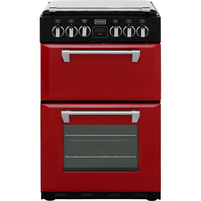 Stoves Mini Range RICHMOND550E 55cm Electric Cooker with Ceramic Hob - Jalapeno - A/A Rated - RICHMOND550E_JAL - 1