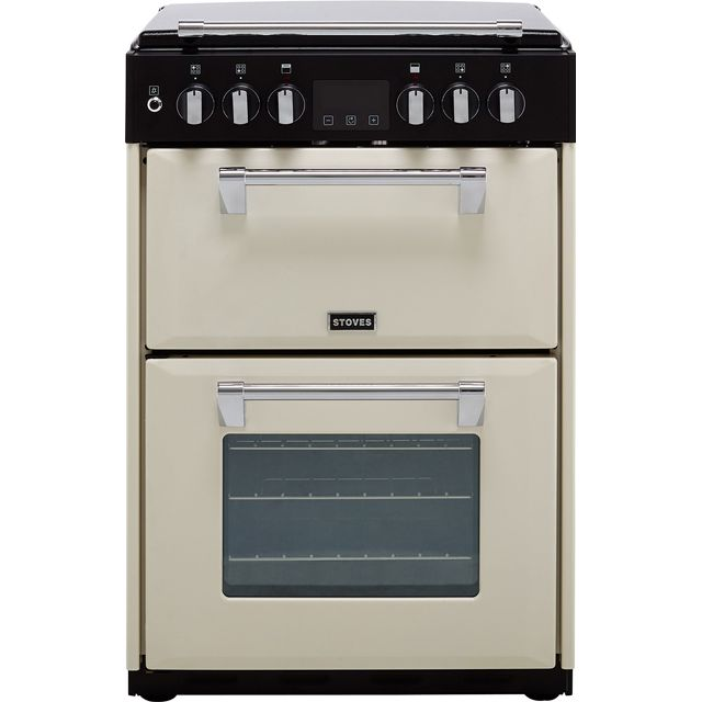Stoves 60cm Dual Fuel Cooker - Cream - A/A Rated