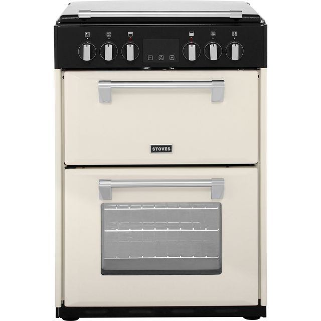 Stoves Richmond600E 60cm Electric Cooker with Ceramic Hob - Cream - A/A Rated - Richmond600E_CR - 1