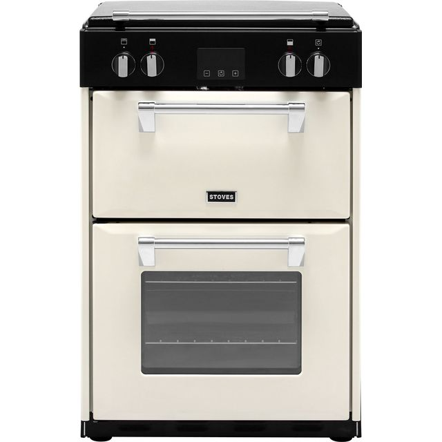 Stoves Richmond600Ei 60cm Electric Cooker with Induction Hob - Cream - A/A Rated - Richmond600Ei_CR - 1