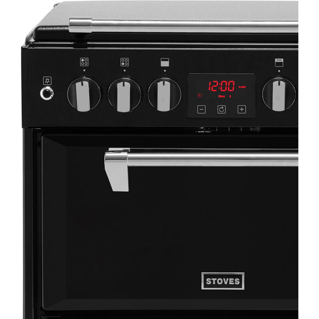 Stoves Richmond600G Gas Cooker - Black - Richmond600G_BK - 2