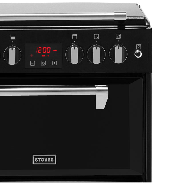 Stoves Richmond600G Gas Cooker - Black - Richmond600G_BK - 3