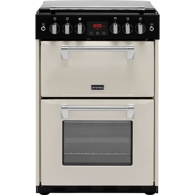 Stoves Richmond600G 60cm Gas Cooker with Full Width Electric Grill - Cream - A+/A Rated - Richmond600G_CR - 1