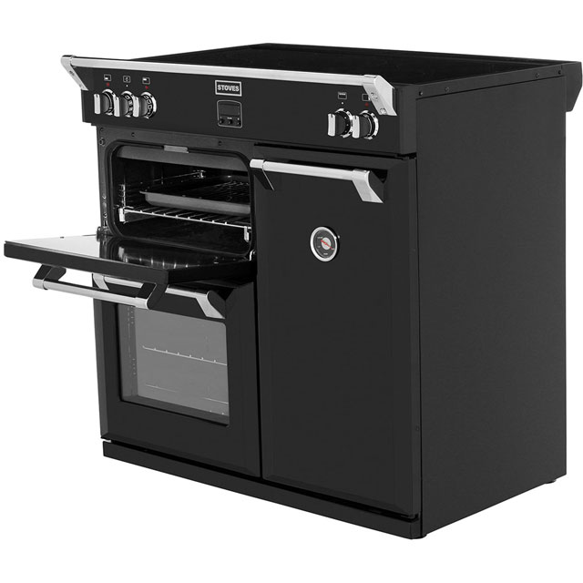 stoves richmond richmond900ei 90cm electric range cooker. Black Bedroom Furniture Sets. Home Design Ideas