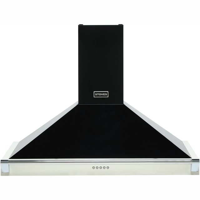 Stoves 900RICHMONDCHRAILMK2 90 cm Chimney Cooker Hood - Champagne - C Rated - 900RICHMONDCHRAILMK2_CH - 1