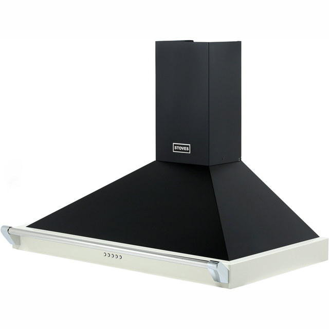 Stoves 900RICHMONDCHRAILMK2 90 cm Chimney Cooker Hood - Hot Jalapeno - 900RICHMONDCHRAILMK2_HJA - 5
