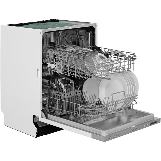Stoves SDW60 Built In Standard Dishwasher - Silver - SDW60_BK - 5