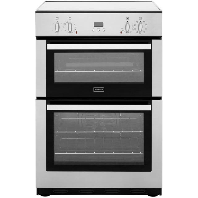 Stoves Electric Cooker with Induction Hob - Stainless Steel - A/A Rated