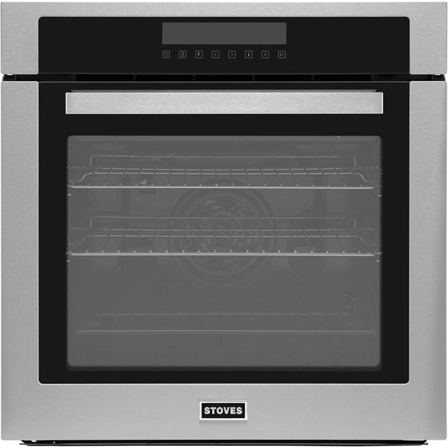 Stoves SEB602MFC Built In Electric Single Oven - Stainless Steel - A Rated - SEB602MFC_SS - 1