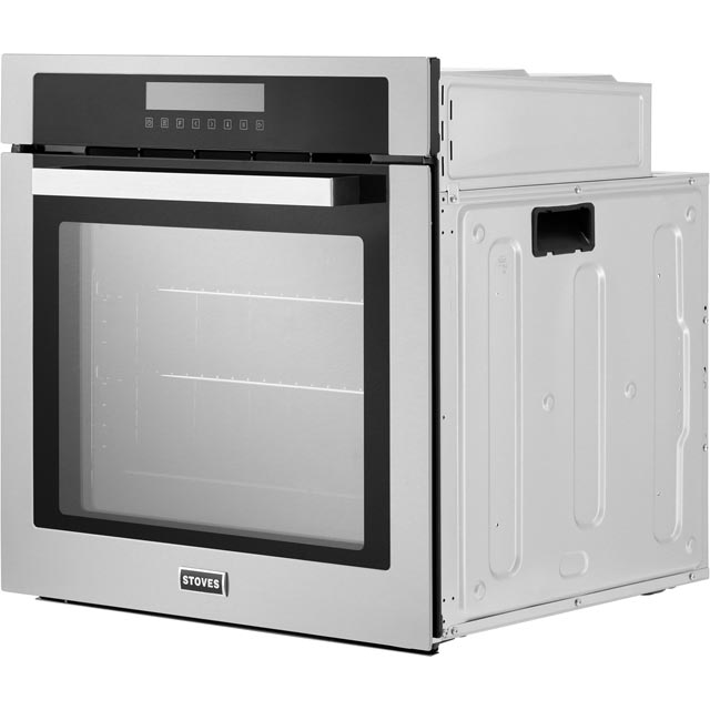 Stoves SEB602MFC Built In Electric Single Oven - Black - SEB602MFC_BK - 3