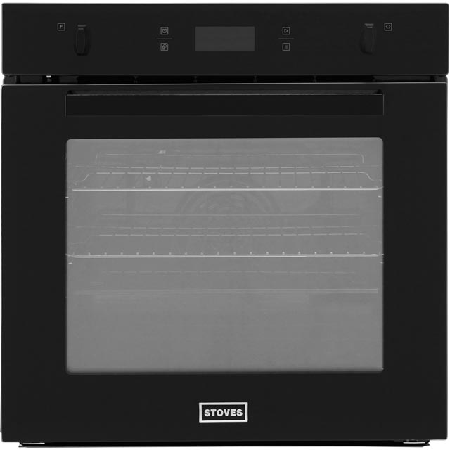 Stoves SEB602PY Built In Electric Single Oven - Black - A Rated - SEB602PY_BK - 1
