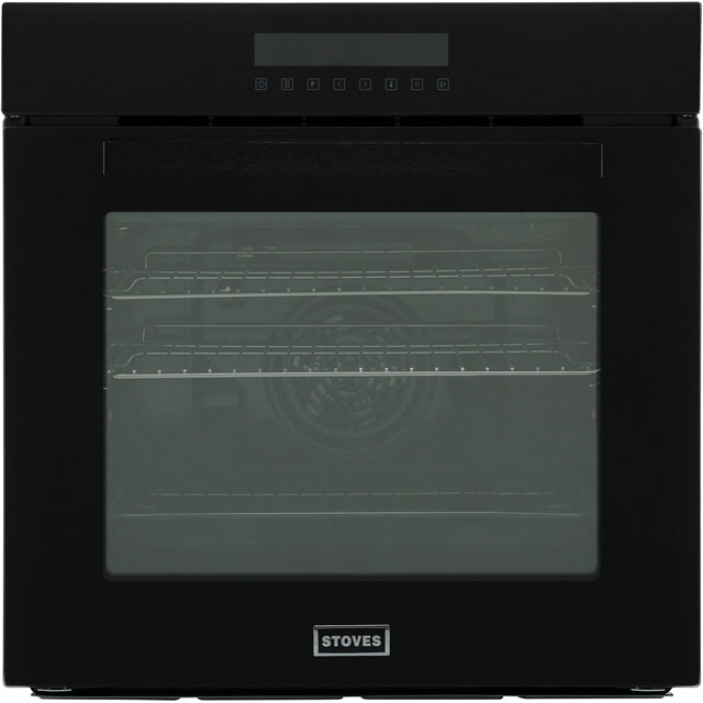 Stoves SEB602TCC Built In Electric Single Oven - Black - SEB602TCC_BK - 1