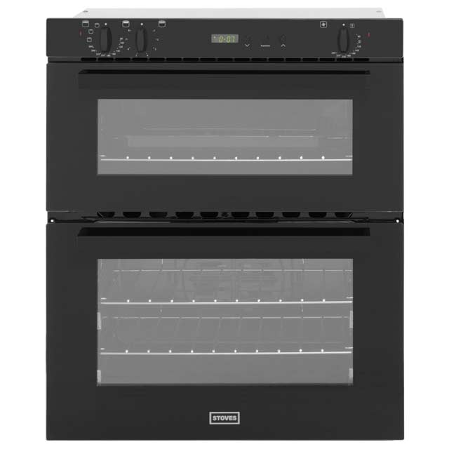Stoves SEB700FPS Built Under Double Oven - Black - A/B Rated