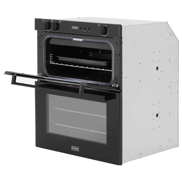 Stoves SEB700FPS Built Under Double Oven - Black - SEB700FPS_BK - 2
