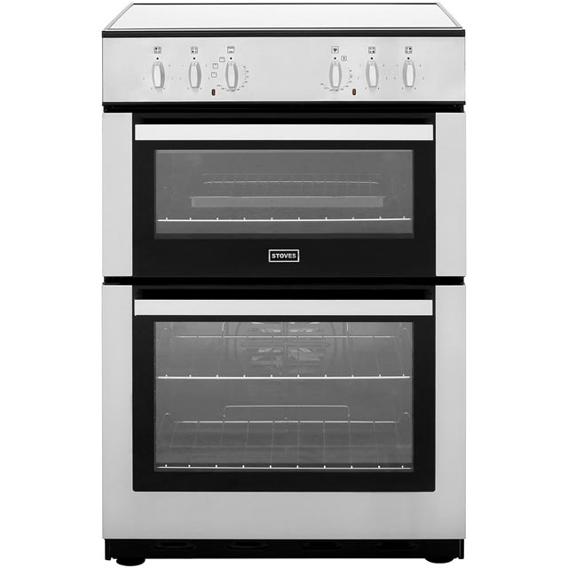 Stoves Electric Cooker with Ceramic Hob - Stainless Steel - A/A Rated