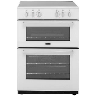 Stoves SEC60DO Electric Cooker with Ceramic Hob - White