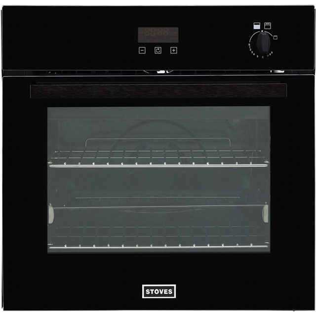 Stoves ST BI600G Built In Gas Single Oven - Black - ST BI600G_BK - 1