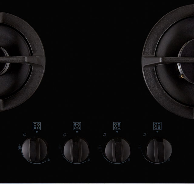 Stoves ST GTG60C Built In Gas Hob - Black - ST GTG60C_BK - 2