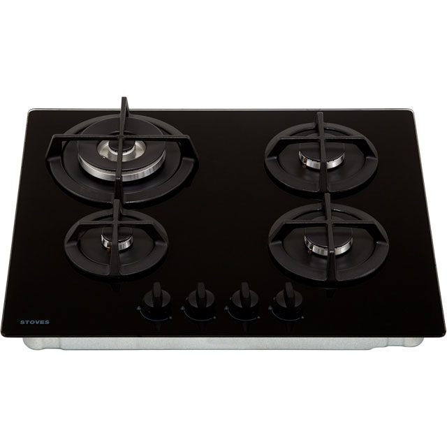Stoves ST GTG60C Built In Gas Hob - Black - ST GTG60C_BK - 4