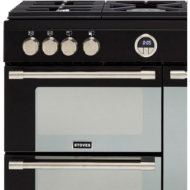 Stoves Sterling S900G Gas Range Cooker - Stainless Steel - Sterling S900G_SS - 2