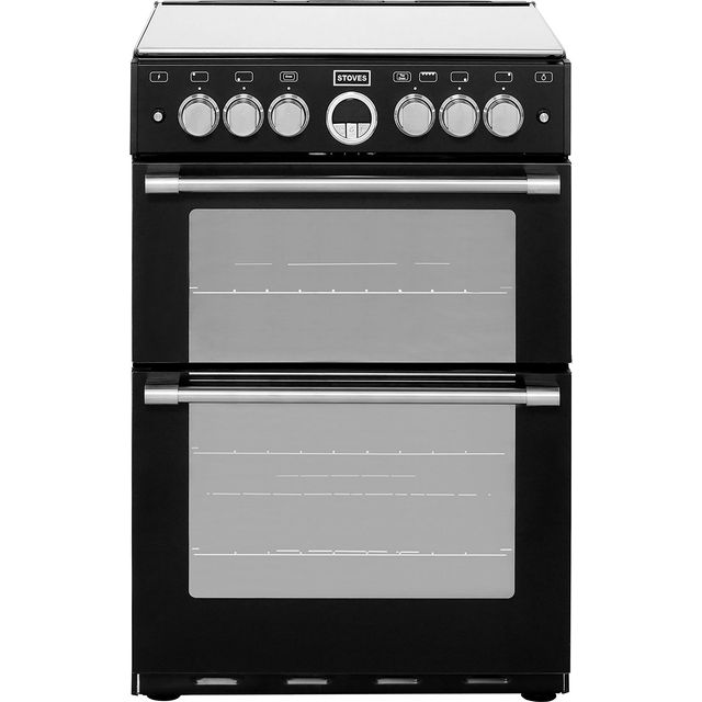 Stoves STERLING600G Gas Cooker - Black - STERLING600G_BK - 1