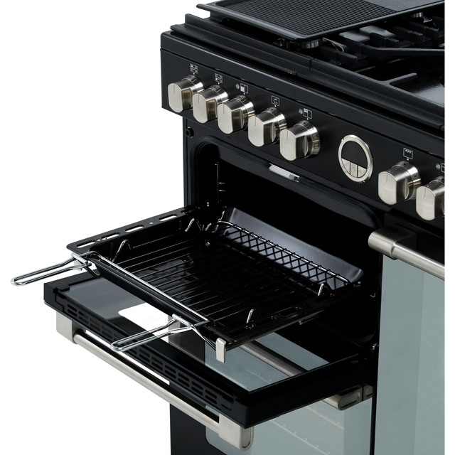 Stoves Sterling S900DF 90cm Dual Fuel Range Cooker - Black - Sterling S900DF_BK - 5