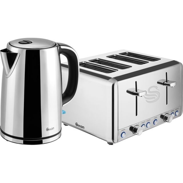 Swan STP2081N Kettle And Toaster Sets - Stainless Steel - STP2081N_SS - 1