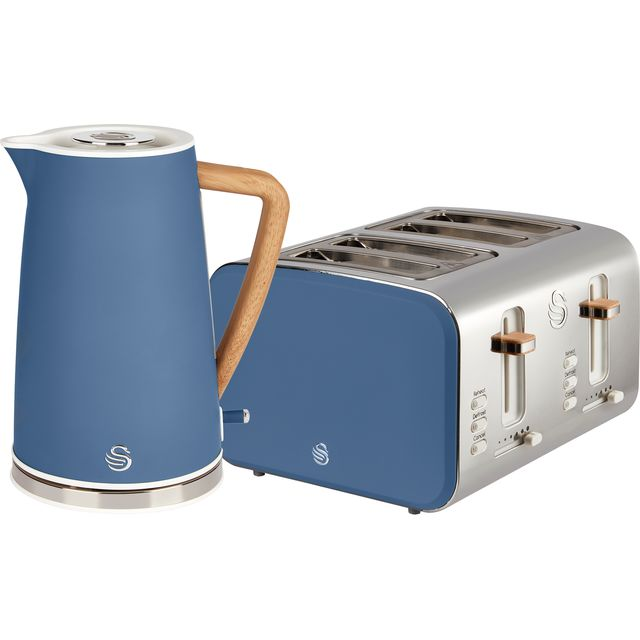 Swan Nordic STP2091BLUN Kettle And Toaster Set - Blue