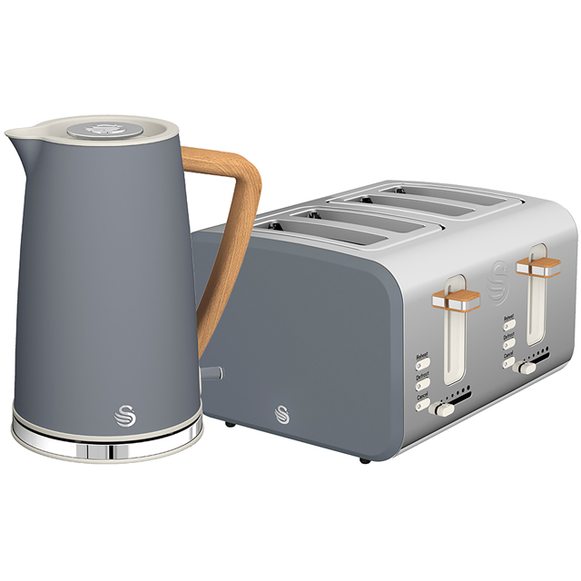 Swan Nordic STP2091GRYN Kettle And Toaster Sets - Grey - STP2091GRYN_GY - 1