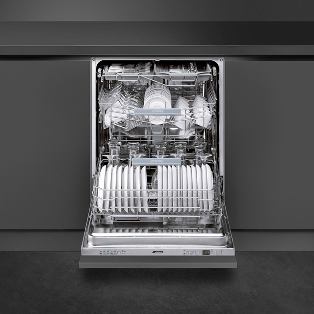 Smeg Semi-Professional STP364S Commercial Fully Integrated Standard Dishwasher £1,695