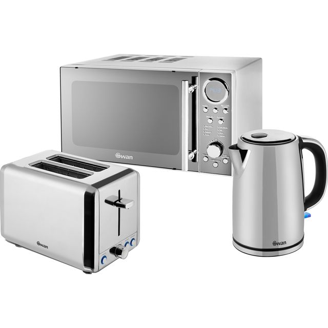 Swan Classic STRP2080N Breakfast Set - Stainless Steel - STRP2080N_SS - 1