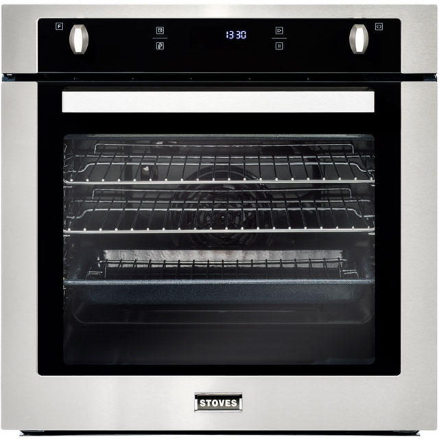 Stoves SEB602F Built In Electric Single Oven - Stainless Steel - A Rated - SEB602F_SS - 1