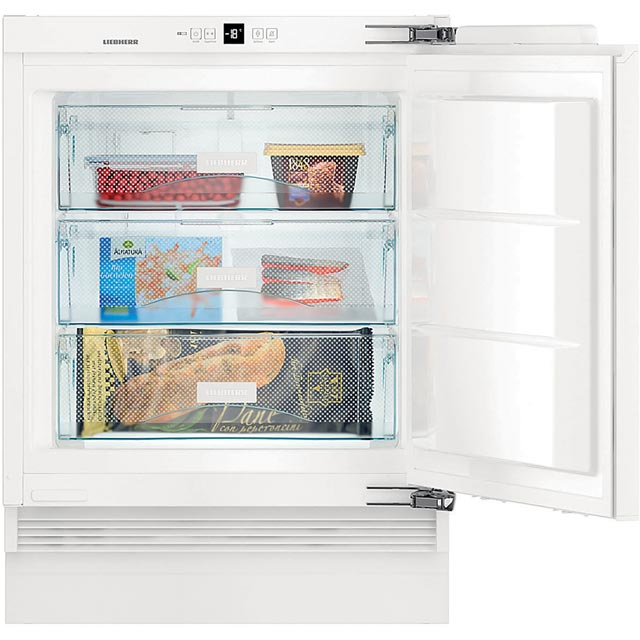 Liebherr SUIG1514 Integrated Under Counter Freezer with Fixed Door Fixing Kit - A++ Rated - SUIG1514_WH - 1