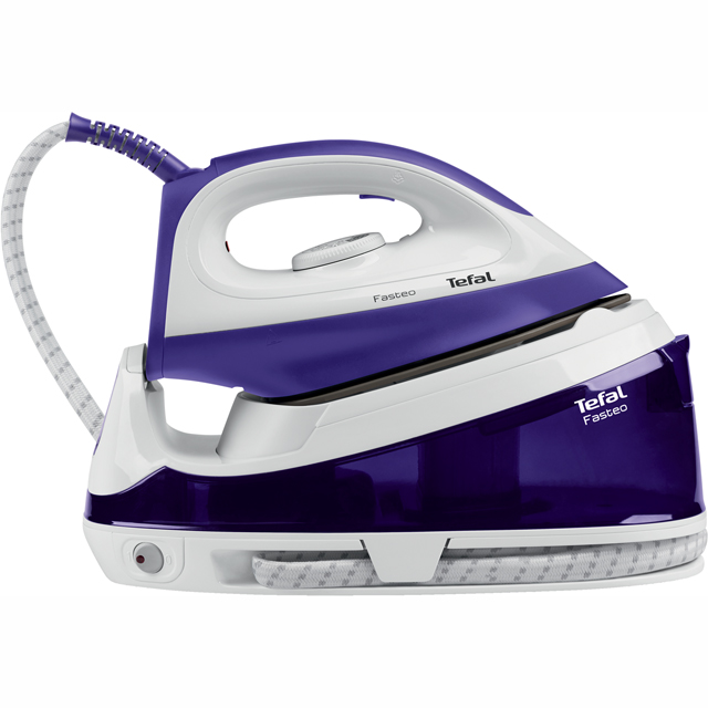 Tefal Fasteo SV6020 Pressurised Steam Generator Iron - Blue - SV6020_BL - 1