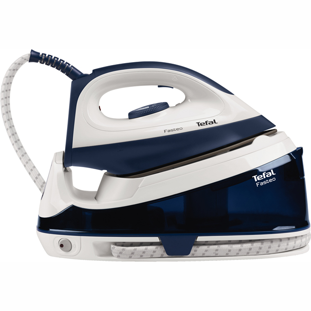 Tefal Fasteo SV6035 Pressurised Steam Generator Iron - Blue