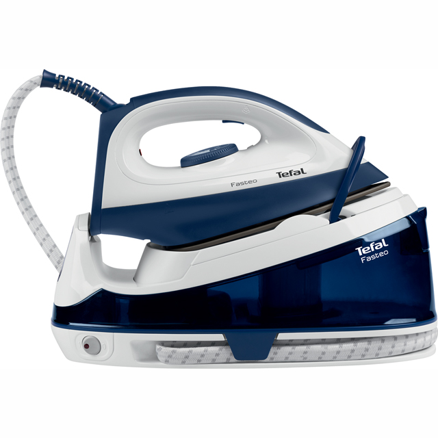 Tefal Fasteo SV6040 Pressurised Steam Generator Iron - Blue - SV6040_BL - 1