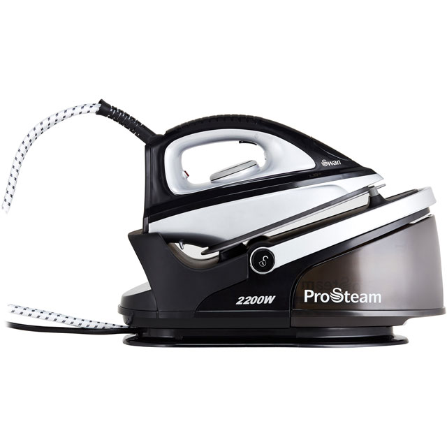 Swan SI11010BLKN Pressurised Steam Generator Iron - Black