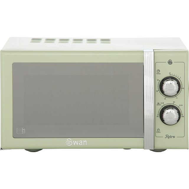 Swan Retro Sm22070gn 25 Litre Microwave Green