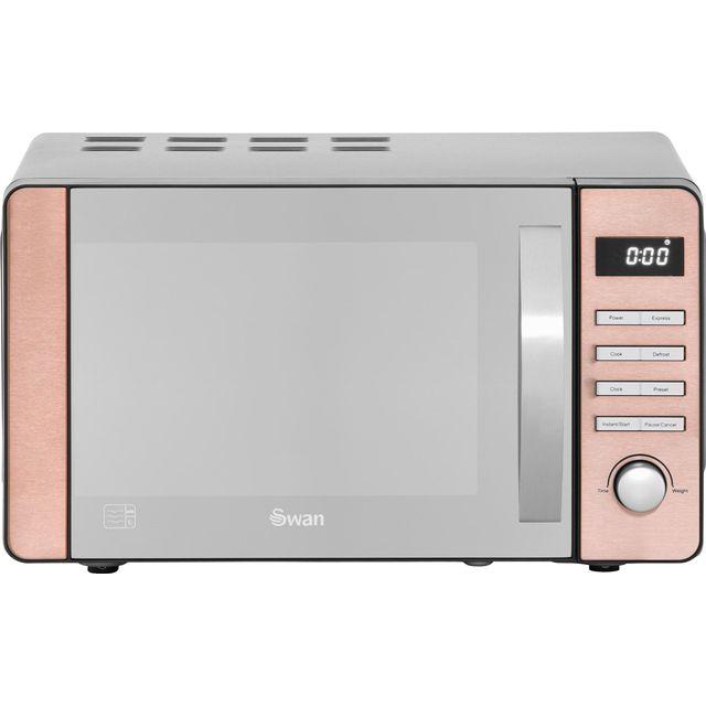 Swan SM22090COPN 20L 800W Solo Microwave - Copper